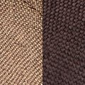 dark brown fabric/light brown fabric